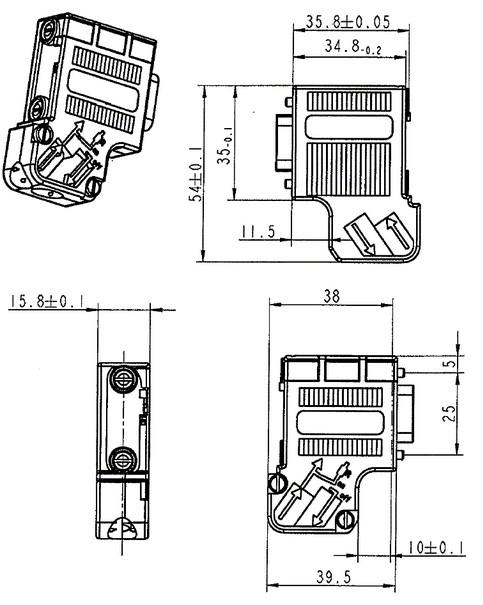profibus connector  u00bb 6es7 972